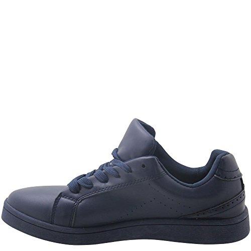 Muse, Sneaker donna Blu blu 38, Blu (Blu scuro), 36 EU
