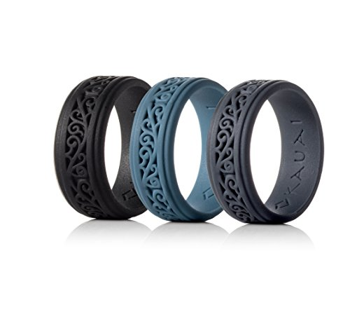 KAUAI Silicone Wedding Rings Elegance Timeless Collection. Leading Brand, from The Latest Artist Design Innovations to Leading-Edge Comfort