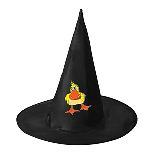 Costumes Pictures Funniest Halloween (Halloween Witch Hat Caps Decorations Baby Duck Adult Womens Black Witch Hat For Halloween Christmas Party Costume)