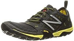 New Balance Men's Mt10v1 Minimus Trail Running Shoe, Greyyellow, 13 2e Us