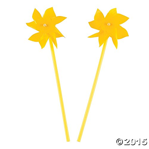 Yellow Pinwheels - Pinwheel Yellow