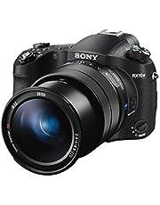Sony DSC-RX10M4 Premium Bridge Camera, 20,1 Megapixel, 25-Voudige Optische Zoom, 4K, 24-600MM F2.4-4 Lijnlens 24 Foto's/Sec, 0,03 Seconde, Autofocus Speed, Zwart
