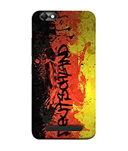 ColorKing Football Germany 05 Multicolor shell case cover for Lenovo Vibe C