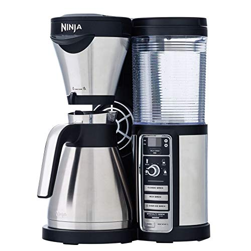 Nina Ninja CF085 Coffee Bar Auto-iQ Brewer with Thermal Carafe