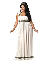 California Costumes Women's Plus Size Olympic Goddess Costume