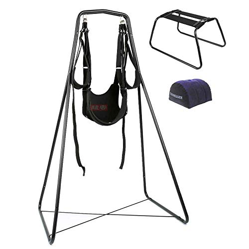 LTLOVETOY Swing Chair Leather Bed Hammock and Pillow Alluring Game Happy Toy Load 120kg Furniture
