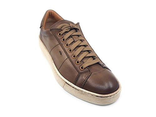 SANTONI MBGU20374PASMGOOE50 Sneaker Uomo MainApps Fango