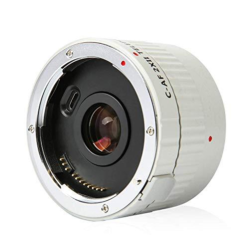 EBYPHAN Telephoto Extender VILTROX C-AF 2XII Teleplus Auto Focus Tele-Converter Lens for Canon EF Mount Lens n DSLR Camera 7D 6D 7DII 80D 5D2 5D3 5DS 5DSR 1DMark I/II/III/IV 1DS Mark I/II/III 1DX