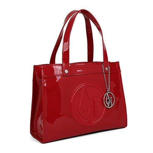 CM Armani Shopping Jeans Women's 30X23X12 Bag Red wrYraxqf