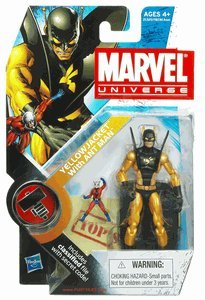 Ant Man Yellow Jacket - Marvel Universe Yellow Jacket with Ant