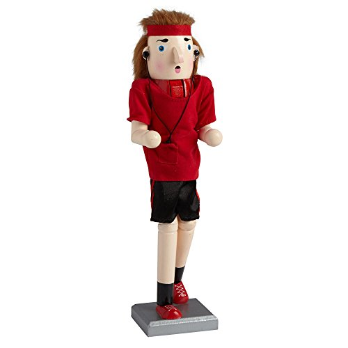 Northeast Home Goods Wooden Christmas Nutcracker Decor, 15-inch, Boy Jogger by Northeast Home Goods
