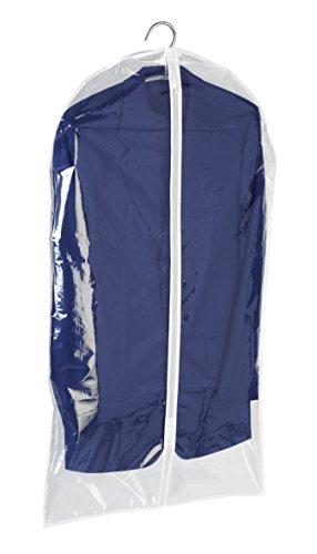 WENKO 3792700100 Kleidersack Transparent, Kunststoff - PEVA, Transparent