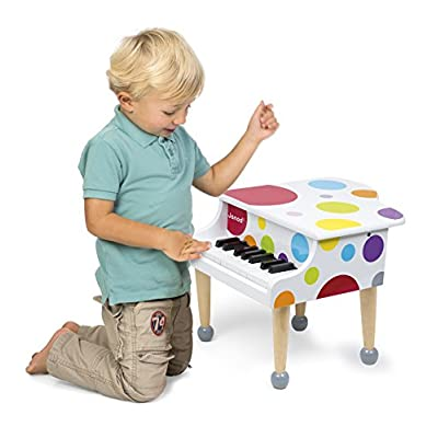 Janod Confetti Grand Piano: Toys & Games