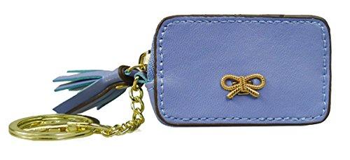 Kukubird Moneda Versátiles Variaciones Lindo Pienso Emoji Bus Tv Cassette Colorido Monedero Embrague Bow Dark Blue