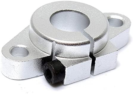 Chenxi Shop Shf12/12/mm lin/éaire Roulement Rod Rail horizontal Shaft support