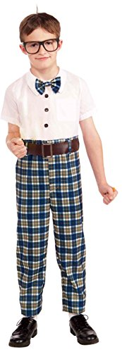 Forum Novelties Class Nerd Child Costume, Medium
