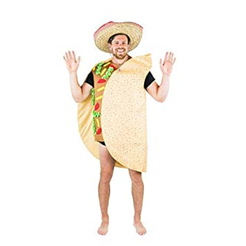 bodysocks taco kostum fur erwachsene