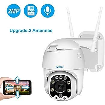 Amazon.com : Anakk Wireless WiFi Security Camera 1080P Pan