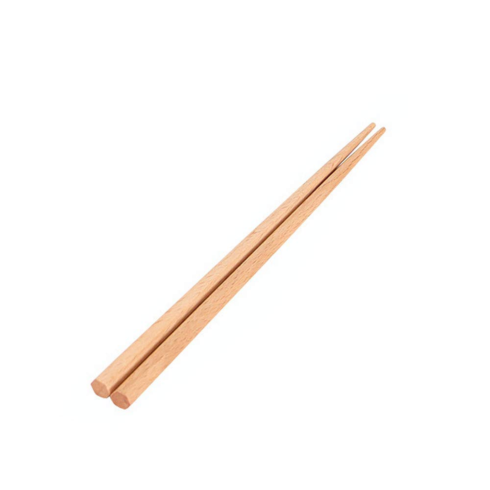 Wooden Flatware Reusable Wood Fork Spoon Chopsticks Eco Friendly Japanese Tableware Natural Health Wooden Tableware for Travel Home Use Best Gift (A-Chopsticks)