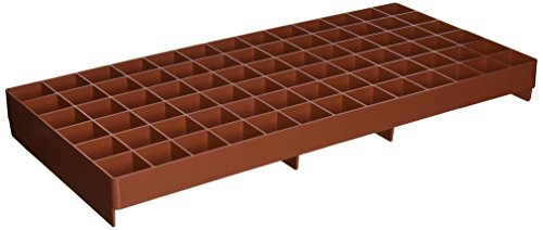 - Grodan RW205002 GL56707445 GRO-Smart Tray, 78-Cell, Terracotta