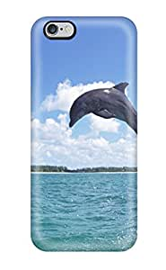 High-quality Durable Protection Case For Iphone 6 Plus(dolphins)