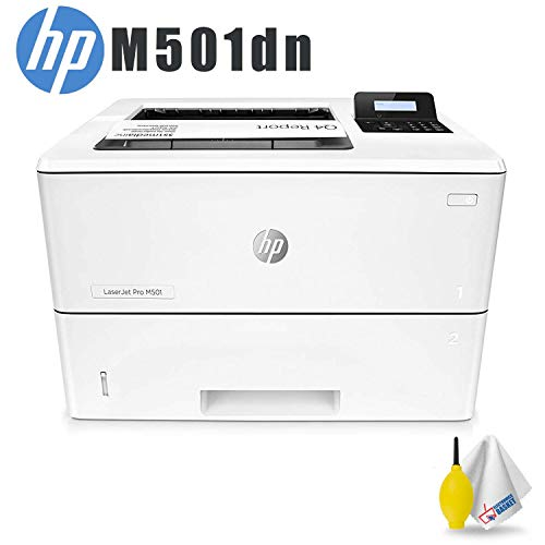 HP Laserjet Pro M501dn Monochrome Laser Printer Standard Accessory Bundle ()