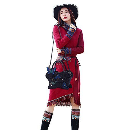 Black Butterfly Women 2Archer Bag Girl Genda Tote Hobo Fashion Shoulder zvTqFC