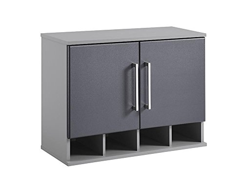 SystemBuild 7473408COM Latitude Wall Cabinet, Gray by System Build