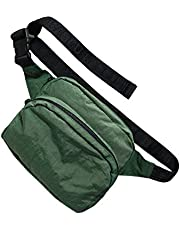 BAGGU Fanny Pack, Fashion Forward and Easy to Carry, Eucalyptus