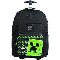 Mala Escolar Gl com Rodinhas Minecraft, 11498, DMW Bags