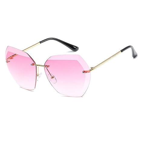 Yangjing-hl Gafas de Sol Mujer Hombre er Gradient Gafas de ...