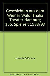 Geschichten aus dem Wiener Wald par Ödön von Horváth