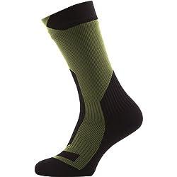 SealSkinz Waterproof Trekking Thick Mid Sock