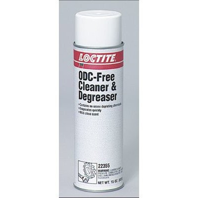 Loctite 22355 ODC Free Cleaner and Degreaser, 15 oz Aerosol (Case of 12) by Loctite