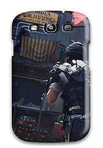 Hot 2359496K40686207 Faddish Call Of Duty: Advanced Warfare Case Cover For Galaxy S3