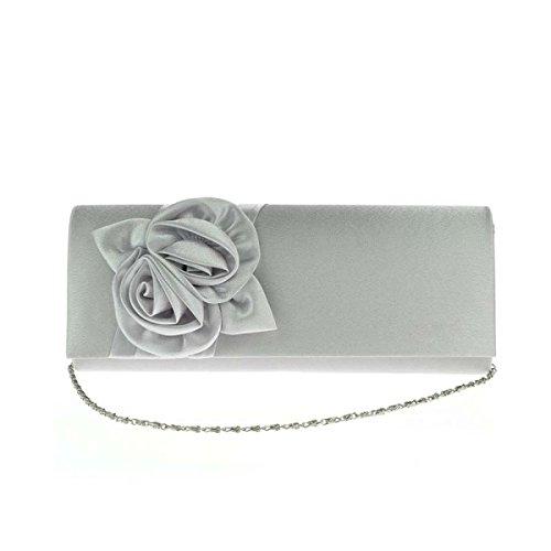 Silver Main De Sac Les Mariage Sac Femmes Roses élégant Sac à Soirée aqzOPfqW