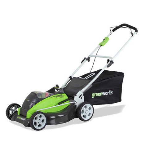 Greenworks 19 Inch 40V Cordless Lawn Mower  Battery Not Included 2501302