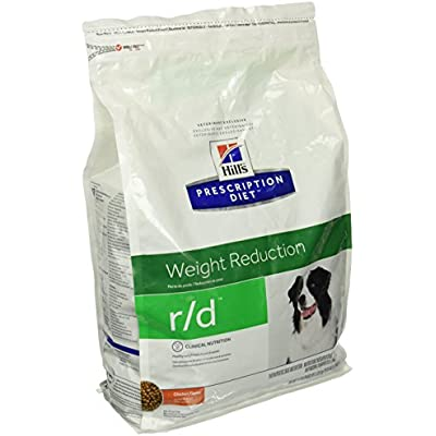 Hill's Pet Nutrition R/D Weight Reduction Chicken Flavor Dry Dog Food, 8.5 lb Bag