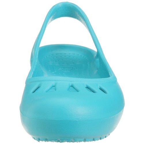 Crocs Womens Malindi Flat Turquoise depmPK51