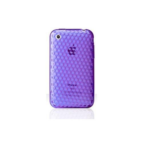 Katinkas 7007893 Soft Cover für Apple iPhone 3G HEX 3D Purple