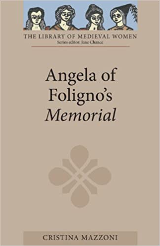 Book Angela of Foligno's Memorial (Library of Medieval Women)