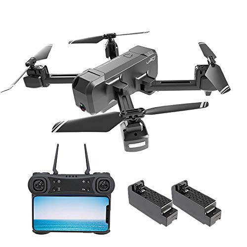 Ceepko KF607 1080P Drone with Camera, Foldable FPV Drone with Live Video, Gesture Photo, Automatically Follow, GPS Auto Return and Set Flight Route for Adults