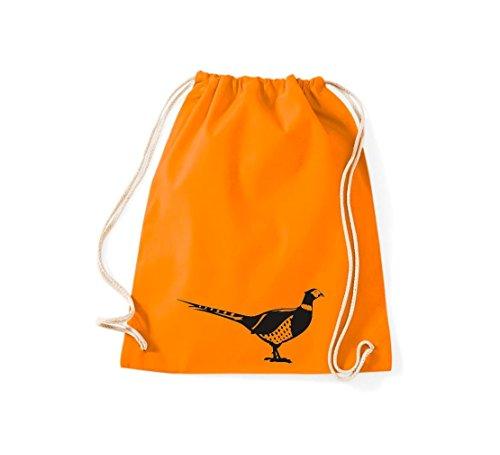 Para Bolso Naranja De Algodón Mujer Tela Shirtstown xZIgax
