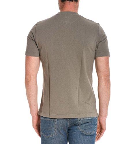Eleventy Herren 979PO0020POL190104 Braun Baumwolle T-Shirt