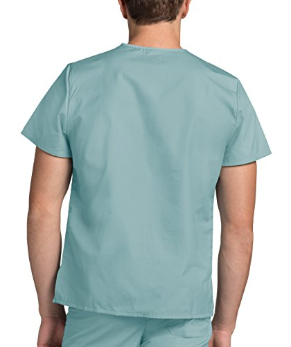 Mediche Uniformi Adar Verde Superiore Lavoro Infermiera submarine Camice Ospedale Unisex Parte Da Uaqqwd