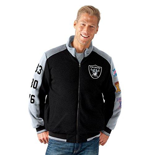 Oakland Raiders Commemorative Super Bowl Jacket NFL Coat XXL