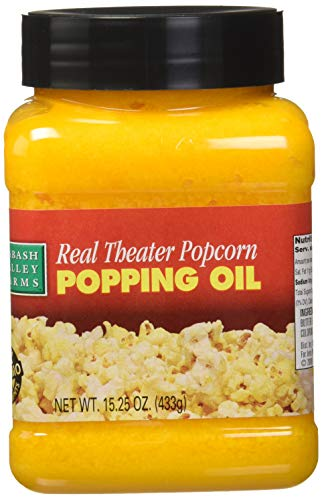 Wabash Valley Farms Popping Oil-Real Theater-15.25 oz (Best Oil For Popping Popcorn)