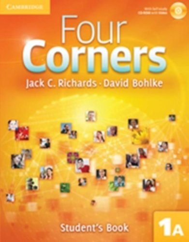 Four Corners 1A Student's Book A with Self-study CD-ROM (Four Corners Full Contact A Level 1 with Self-study CD-ROM)
