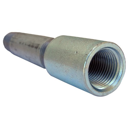 LASCO 28-0515 Galvanized Nipple and Coupling with Right and Left Hand Thread, 1/2-Inch x - Gas Coupling