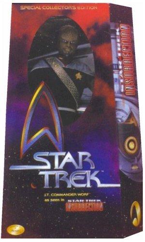 """12 """"Edición especial de coleccionista de películas Star Trek Teniente Comandante Worf Visto en Star Trek: Figura de acción de insurrección"""